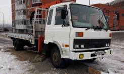 Nissan Diesel. Продаётся грузовик с манипулятором , 6 900 куб. см., 3 000 кг.