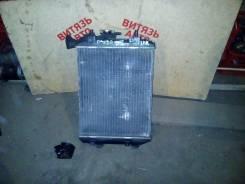 Радиатор охлаждения двигателя. Toyota Passo, KGC15 Двигатель 1KRFE
