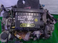 ДВС + КПП Toyota - - 1SZ-FE FF AT U440E SCP11 106009 км КОС. Toyota: Vitz, Yaris, Echo, Yaris / Echo, Platz Двигатель 1SZFE