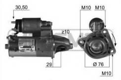 Стартер. Volvo B Volvo C30, MK20, MK43, MK67 Volvo V50, MW43, MW20 Ford Fiesta, CB1 Ford Focus, CB4, DFW, DNW, CB8, DBW Двигатели: B 4164 S3, B 4204 S...