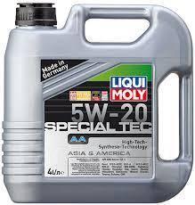 Liqui moly Special Tec AA. Вязкость 5W-20, синтетическое