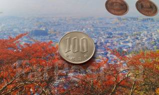 Япония. 100 йен 1991 года.