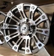 Комплект новых литых дисков Euroracing Wheels R15 5х139,7. 8.0x15, 5x139.70, ET0, ЦО 110,0мм.
