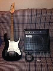 Продаю гитару Ibanez и комбик