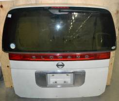 Спойлер на заднее стекло. Nissan Elgrand, E51