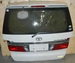 Дверь багажника. Toyota Alphard, ATH10, ANH15, ATH10W, MNH10W, ANH15W, ANH10W, MNH10, ANH20, ANH10