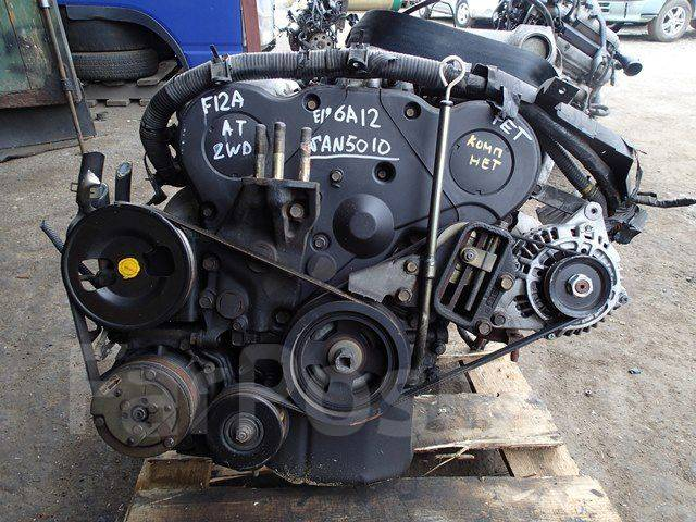 Контрактный двигатель Мицубиси 6A12 2,0 л бензин