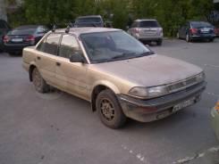 Toyota Corolla. Продам документы Тойота Королла 1987г правый руль