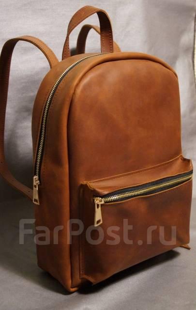 a7df5b60ae1d Кожаный рюкзак ручной работы - Аксессуары и бижутерия в Санкт-Петербурге