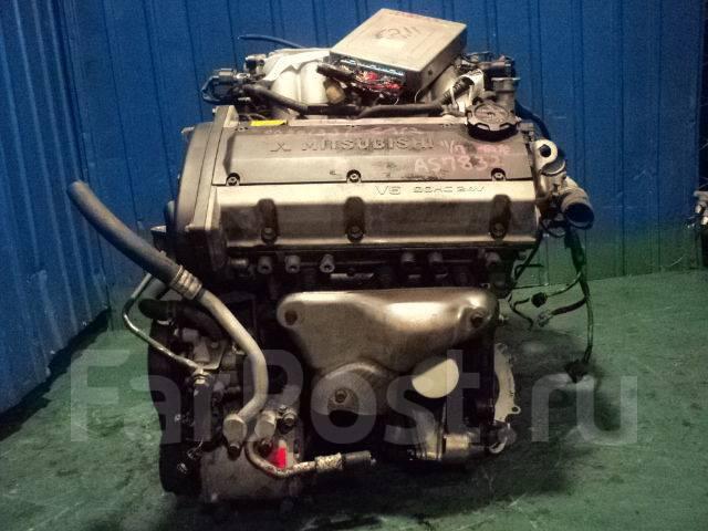 Контрактный двигатель Мицубиси 6A12 2,0 л V6, DOHC; 24V бензин
