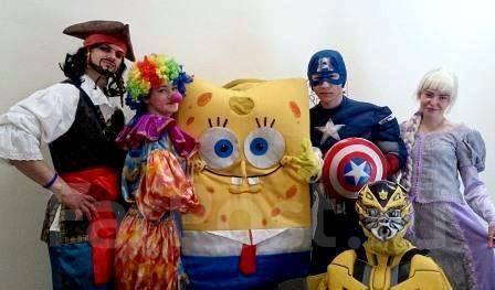 Аниматоры, ростовые куклы, Клоуны, Малышам и Школьникам