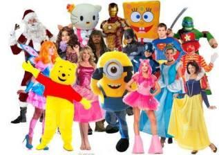 Аниматоры, ростовые куклы, Клоуны Малышам и Школьникам за 700 руб.