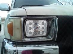 Фара светодиодная 142х200 хрусталь, ДХО. Mazda Bongo, Т-Сурф. Mazda Bongo, SSF8RE, SSE8WE, SSF8WE, SSF8W, SSE8W, SSE8R, SSF8R Mazda 323F Mazda Proceed...