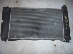 Радиатор охлаждения двигателя. Toyota Corolla, NZE124, NZE120, NZE121