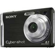 Sony Cyber-shot DSC-W90. 8 - 8.9 Мп, зум: 7х