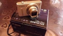 Canon PowerShot SX610 HS. 20 и более Мп, зум: 14х и более