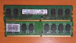 Память DDR2 PC6400 2 планки по 2 Gb Samsung и Hynix