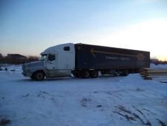 Freightliner Century. Продаётся седельный тягач Фредлайнер сцепка с полуприцепом Крона-тент, 12 700 куб. см., 30 000 кг.
