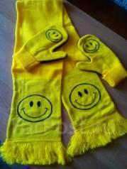 Шапка, шарф и варежки. 54