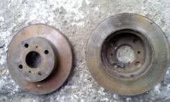 Диск тормозной. Toyota Corolla, EE103 Двигатель 5EFE