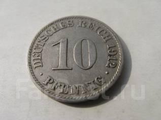 10 пфеннигов. Германия 1912 г