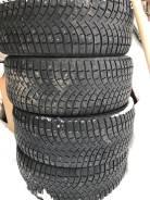Michelin Latitude X-Ice North 2. Зимние, шипованные, 2014 год, износ: 40%, 4 шт