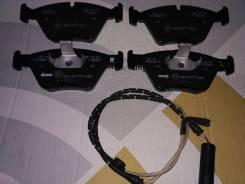 Колодка тормозная. BMW 5-Series, E39 BMW 7-Series, E38 BMW X5, E53 Двигатели: M47D20, M54B22, M54B25, M54B30, M57D25, M57D30, M62B35, M62B44TU, M57D30...