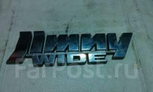 Эмблема. Suzuki Jimny Wide