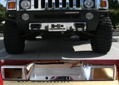 Накладка на бампер. Hummer H3