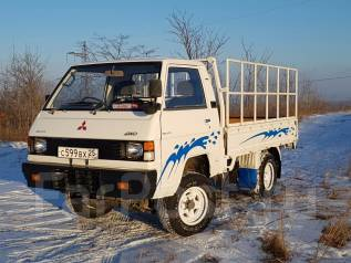 Mitsubishi Delica. Продам MMC Delica 4WD, 2 400 куб. см., 1 000 кг.