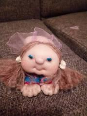 Кукла - попик ручная работа