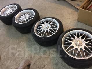 Комплект разношироких колёс R17 5x114.3 245/45R17, 215/45R17. 8.0/9.0x17 5x114.30 ET35/38