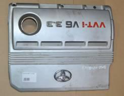 Крышка двигателя. Lexus RX330 Двигатель 3MZFE