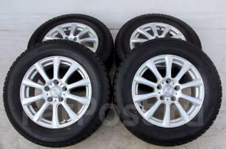 Колёса с шинами =Weds Joker= R16! 2012 год! 8 мм (№ 50999). 6.5x16 5x114.30 ET40