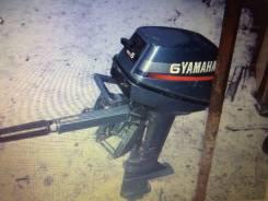 Yamaha. 6,00л.с., 2х тактный, бензин, нога S (381 мм)