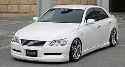Обвес кузова аэродинамический. Toyota Mark X, GRX120, GRX121, GRX125. Под заказ