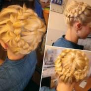 Любые прически, плетение кос