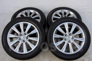 Колёса с шинами =Toyota Crown= R17! 2012 год! Протектор 7 мм (№ 51049). 7.0x17 5x114.30 ET45