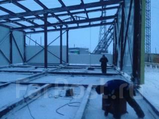 Строительство сборно разборного конструкций гаража, склада, ангара