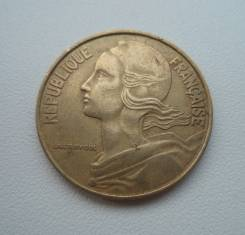 Франция, 20 сантимов 1972 -