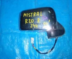 Зеркало заднего вида боковое. Nissan Mistral, R20, KR20 Двигатели: TD27T, TD27TI. Под заказ