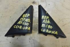 Накладка на зеркало. Toyota Corona, ST191, ST190, CT190, CT195, ST195, AT190 Toyota Caldina, CT198, CT196, CT190, ET196, ST190, ST191, ST195 Двигатели...