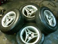 Колеса 13х5,5J 4х98 литые с резиной Amtel 175-70 R13 82H. 5.5x13 4x98.00 ET30 ЦО 57,0мм.