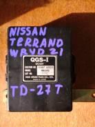 Блок управления свечами накала. Nissan Terrano Двигатели: TD27, TD27TI, TD27T