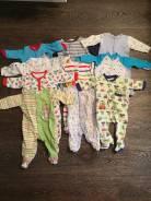 Лот одежды для мальчика от 0 до 6мес. Рост: 50-60, 60-68, 68-74 см