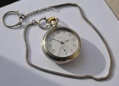 Карманные часы Elgin 1909 года. С цепочкой. Прикоснись к истории!. Оригинал