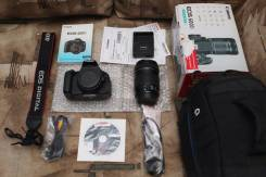 Canon EOS 600D Kit. 20 и более Мп, зум: 10х