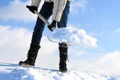 Уборка снега Вручную/Техникой