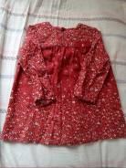Продам платье и кофту фирмы Зара. Рост: 80-86 см