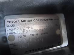 Крышка багажника. Toyota Celsior, UCF31 Двигатель 3UZFE